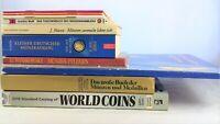 💱  11 x  Münzen Medaillen Kataloge Pflege Euro Coins - Bücherpaket Sammlung