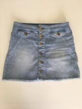 Witchery Girls Denim Skirt Size 10 EUC