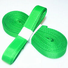 "5yds 3/8"" (10 mm) Green Solid Christmas Grosgrain Ribbon Hair Bows Ribbion#"