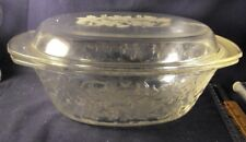 "Princess House Fantasia baking pan oval covered #529 12"" x 9"""