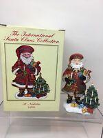 International Santa Claus St Nicholas Lativa 2001 SC52- With Box