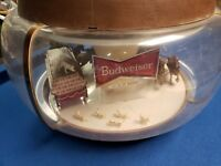 Vintage Large Budweiser Clydesdale Parade Rotating Hanging Carousel