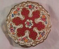 Vintage Stratton Compact Flowers Never Used