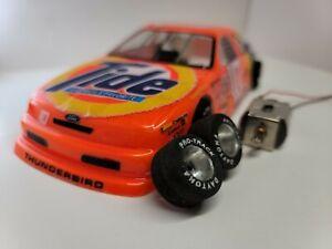 1/24 Parma Slot Car Ford Thunderbird #10 Tide NASCAR Flexi-2 set chassis