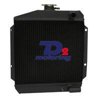 3ROW Aluminum Radiator For Yanmar 3TNE74 119621-44500 AU POST