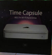 Apple Time Capsule 1TB Wi-Fi Hard drive 2-Band Wireless-N Router NAS MC343LL/A