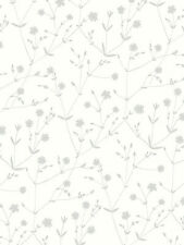 1 ROLL OF MARIMEKKO ILLALLA WALLPAPER 17960 COLOUR IVORY