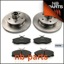 Frenos Delanteros para VW Transporter T3 Discos de Completo + Pastillas