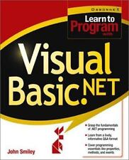 Learn to Program with Visual Basic.NET Smiley, John Paperback