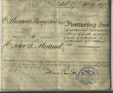 More details for vellum deed 1873 john thornhill morland  abingdon musgrave wroughton  red seal