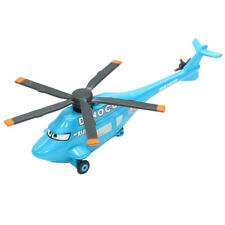 New Mattel Disney Pixar Cars Dinoco Helicopter Metal Diecast Toy Planes Loose
