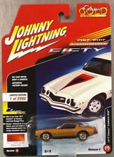 JOHNNY LIGHTNING 1977 CHEVY CAMARO Z28 CLASSIC GOLD FIFTY ANNIV BROWN RELEASE 4