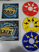 FLAIX FM MATI VADOR LLADO - 3 X CD FAT BOX TEMPO MUSIC MAX MIX SPANISH EDIT