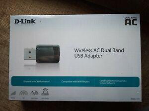 D-Link DWA‑171 AC600 MU‑MIMO Wi‑Fi USB Adapter Wireless Standard: AC600 USB 2.0