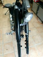 ZRide Gabelcover Honda VT 750 Schwarz Glanz Fork Cover Shrouds Satz NEU