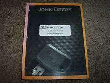 JD John Deere 450J 55J 650J Crawler Parts Catalog Manual PC9387