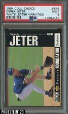 1994 Collector's Choice #644 Derek Jeter RC Rookie HOF PSA 9 MINT