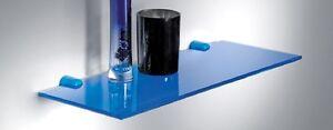 VITRA 6 mm Glass Shelves With Brackets Books / Bathroom Wall / Floating Storage