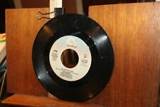 Vintage 45 Record Air Supply All Out of Love Old Habits Die Hard