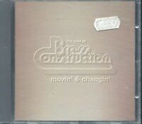 Brass Construction - Movin' & Changin' The Best Of Cd Ottimo
