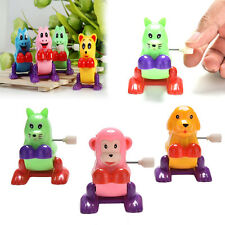 1Pc Wind up Animal Colorful Funny Somersault Running Jumping Clockwork Toy Wf