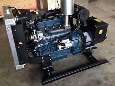 30KW Single Phase 120/240 continuous home Kubota Diesel Generator Set NEW Engine