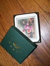 New in Box Nib Jason (6) Coasters Old Fashion Roses Cork Backs