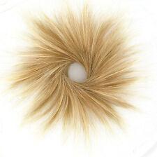 bollo de cabello coletero luz rubia rubio cobre malla poli claro 21/27t613