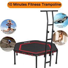 "MOVTOTOP 48"" Indoor Trampoline Workout Fitness Exercise Rebounder for Kids Adult"