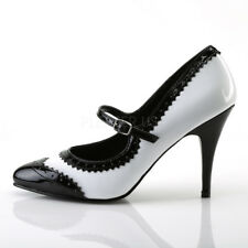 """Pleaser USA Vanity-442 4"""" high heel pumps men's size 5 - 13 womn's sz 7 - 15"""