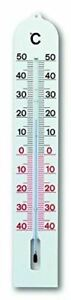 TFA 12,3005–Plastic Internal and External Thermometer, White