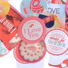 38x Mini Stickers Love Heart Diary Photo Album Decoration Baking Wedding Giftstw
