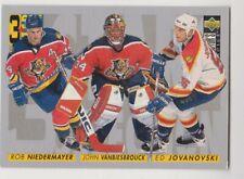 1996-97 Upper Deck Collector's Choice #318 Jovanovski Vanbiesbrouck Niedermayer
