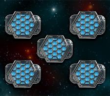 Star Wars: X-Wing Miniature Games Metal Rebel Shield Tokens -- Broken Egg Games