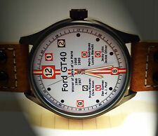 Le Mans Winners Commemorative Watch for 1966 - 1967 - 1968 -1969 Ford GT40
