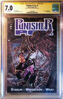 Punisher CGC SS Wrightson POV Signature Series Signed Bernie Wrightson