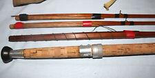 Sharpes Aberdeen Scottie 13; spliced joint split cane salmon fly fishing rod