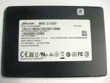 """Micron M600 series 256GB Internal SATA 2.5"""" SSD Drive MTFDDAK256MBF"""