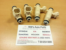 HYUNDAI TIBURON 2.0L 2001-2008 GENUINE BRAND NEW Fuel Injector 4p