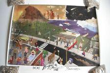 "Original 2002 Phish poster ""101 Songs"" (2000-Now)"