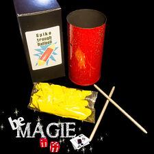 Aiguilles à travers le ballon - Version TUBE - Spike through - Tour de magie