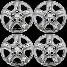 "4 CHROME 06-12 Suzuki Grand Vitara 16"" Wheel Skins Hub Caps Rim Tire Trim Covers"