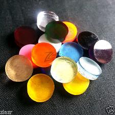 (50) 1 inch dia. x 1/8 Small RANDOM COLOR Acrylic Circle Disc Plexiglas Plastics
