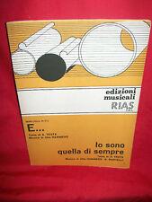 MINA E... + Io sono quella di sempre Spartiti 1965 Sheet Music