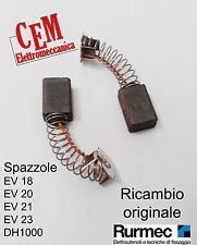 Spazzole per miscelatore Rurmec EV 18 - EV 20 - EV 21 - EV 23 - DH 1000 trapano