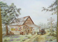 Mike's Garage-16 x 20 print(old Country store  Look with Coca-Cola sign)