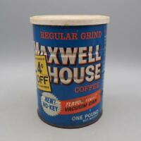 Vintage Maxwell House Coffee Tin Advertising Packaging