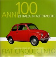 FIAT CINQUECENTO rare booklet 30 PAGES