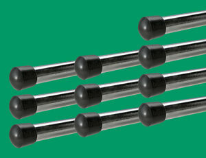 """10 Rod End Caps for 5/8"""" Foosball Rods-Tournament Soccer Foosball Table End Caps"""
