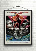 The Spy Who Loved Me James Bond Large Movie Poster Art Print A0 A1 A2 A3 A4 Maxi